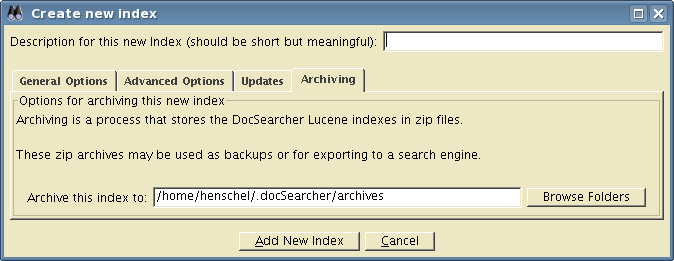 archiving properties